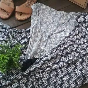 Lucky Brand Dresses - Lucky Brand Geometric Tank Maxi Dress Size 2xl